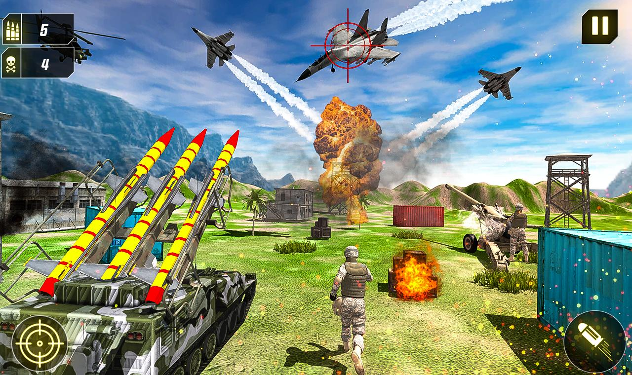 Military Missile Launcher:Sky Jet Warfare 1.0.7 Screenshot 14