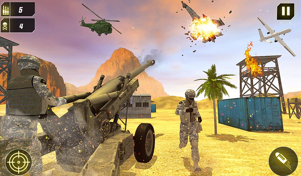 Military Missile Launcher:Sky Jet Warfare 1.0.7 Screenshot 15