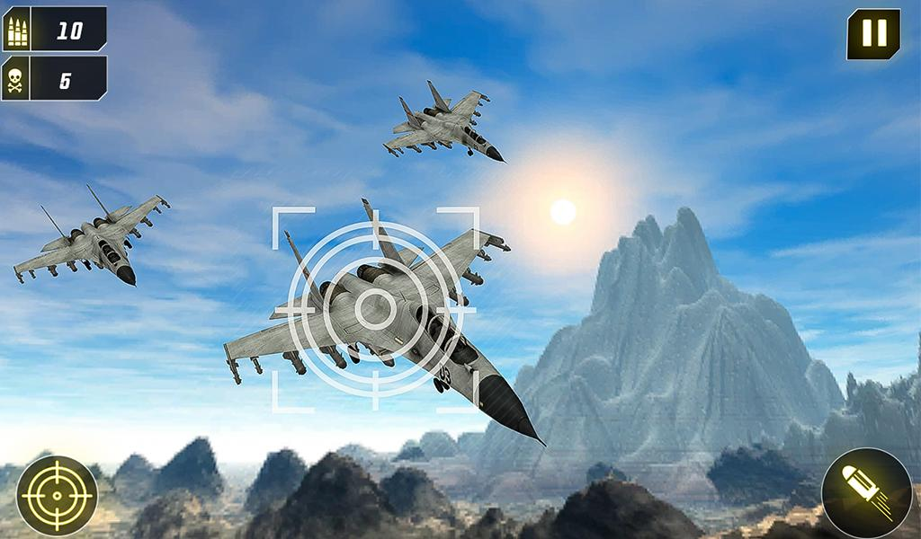 Military Missile Launcher:Sky Jet Warfare 1.0.7 Screenshot 18
