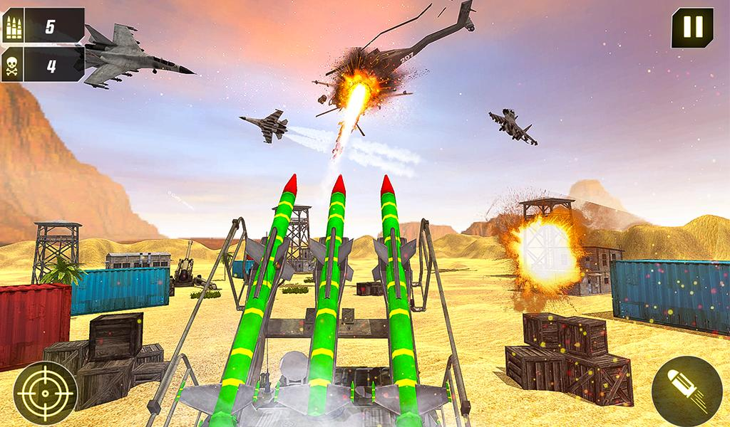 Military Missile Launcher:Sky Jet Warfare 1.0.7 Screenshot 20