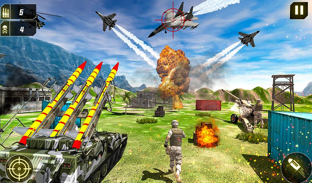 Military Missile Launcher:Sky Jet Warfare 1.0.7 Screenshot 21