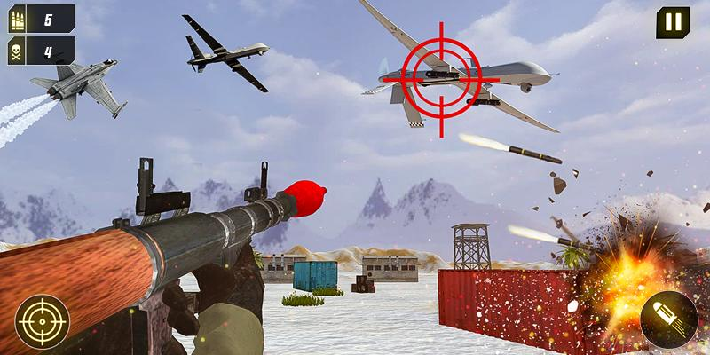 Military Missile Launcher:Sky Jet Warfare 1.0.7 Screenshot 4