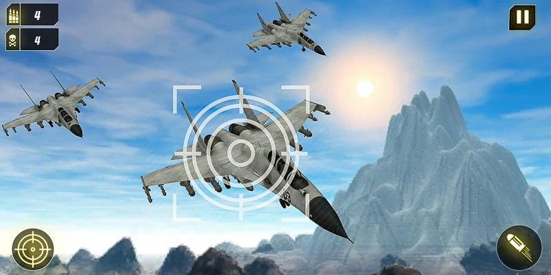 Military Missile Launcher:Sky Jet Warfare 1.0.7 Screenshot 6