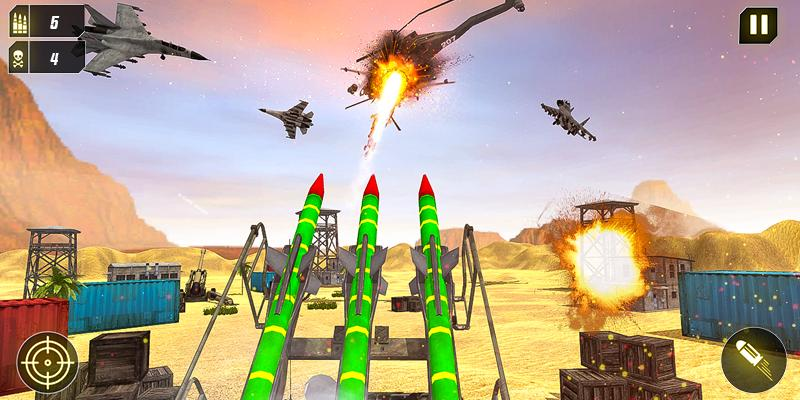 Military Missile Launcher:Sky Jet Warfare 1.0.7 Screenshot 7