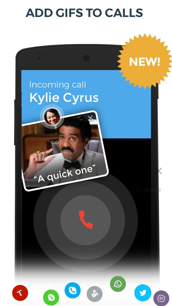 Contacts, Phone Dialer & Caller ID: drupe 3.049.00004-Rel Screenshot 2