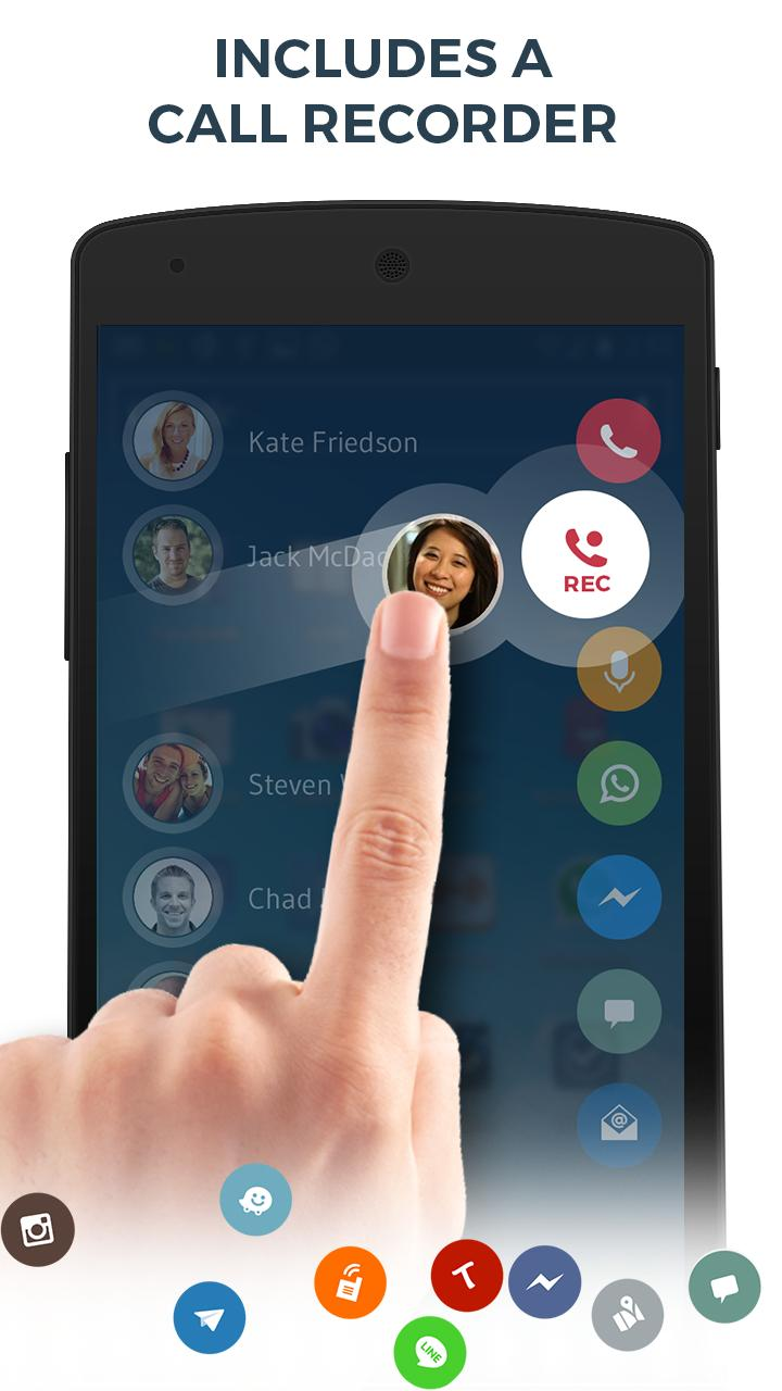 Contacts, Phone Dialer & Caller ID: drupe 3.049.00004-Rel Screenshot 4