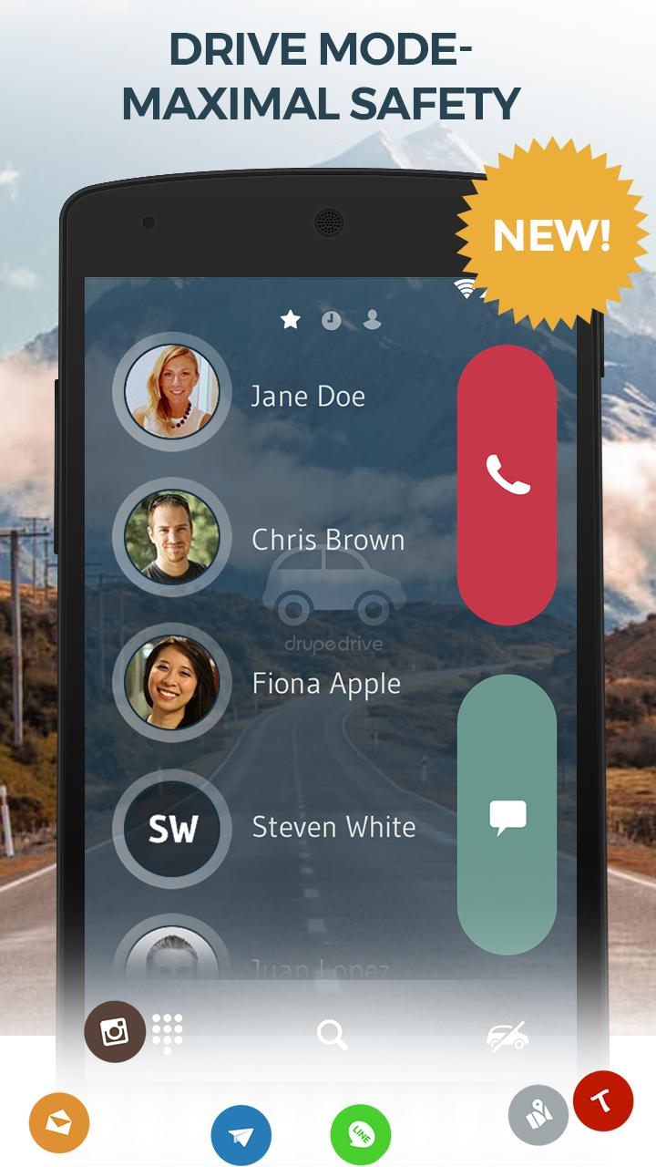 Contacts, Phone Dialer & Caller ID: drupe 3.049.00004-Rel Screenshot 5