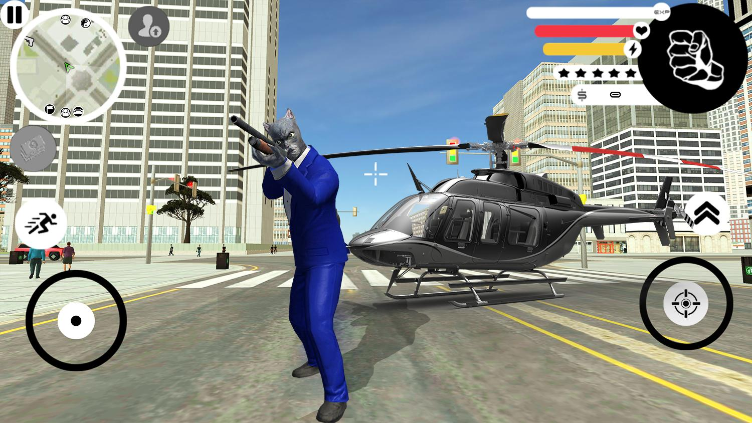 Grand Panther Gangster Rope Hero Vegas Crime 2 Screenshot 2