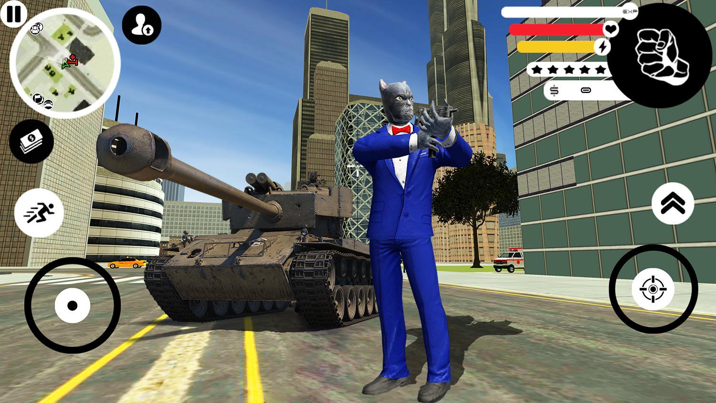 Grand Panther Gangster Rope Hero Vegas Crime 2 Screenshot 3
