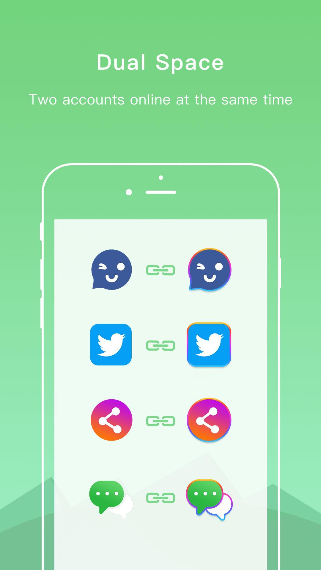Dual Space - Multiple Accounts & App Cloner 3.2.5 Screenshot 2