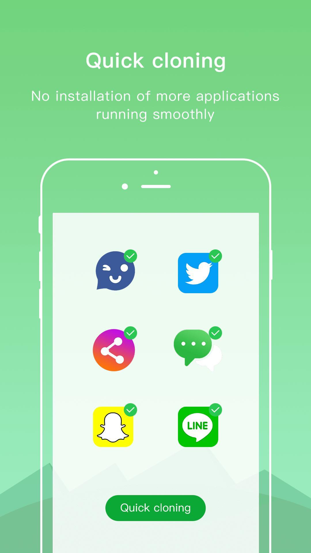 Dual Space - Multiple Accounts & App Cloner 3.2.5 Screenshot 3