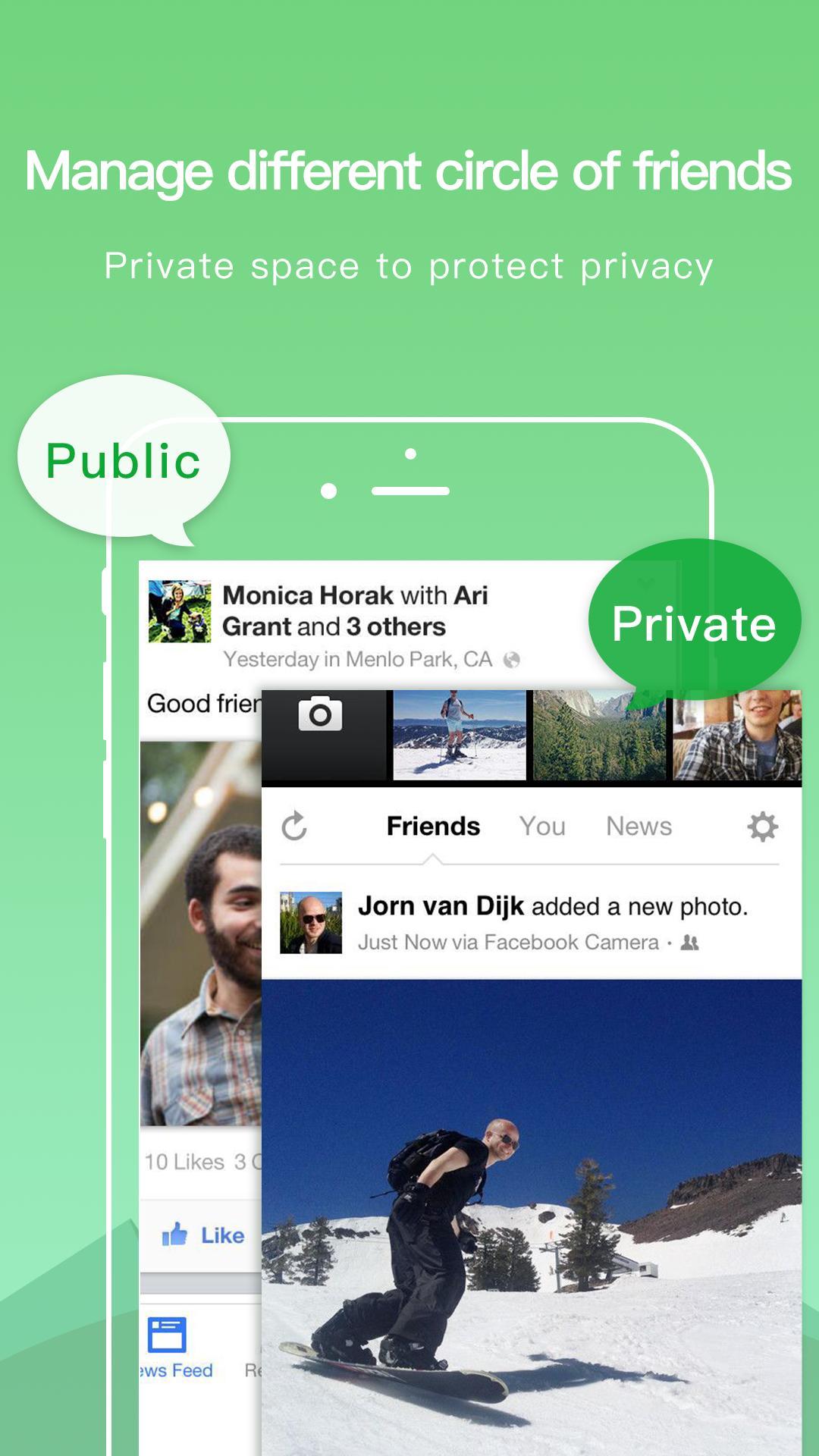 Dual Space - Multiple Accounts & App Cloner 3.2.5 Screenshot 4