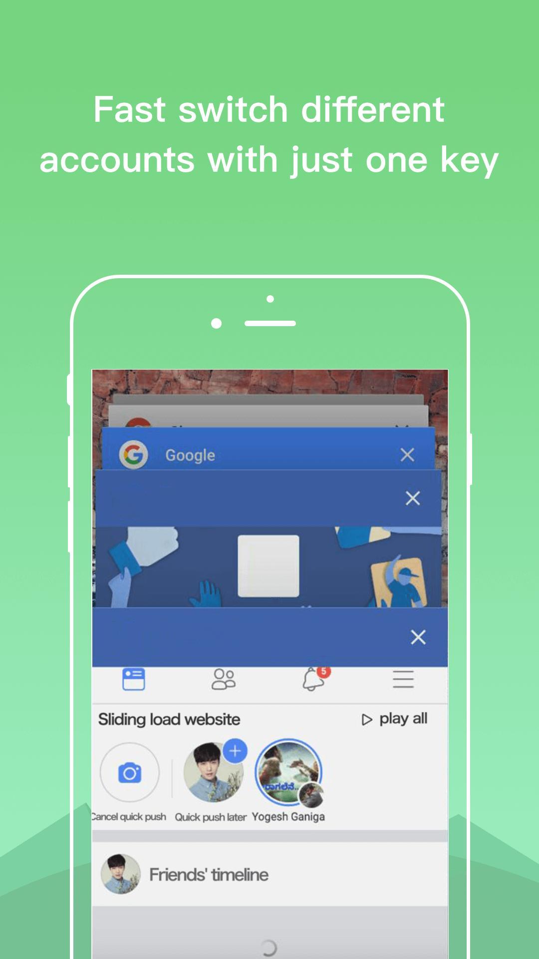 Dual Space - Multiple Accounts & App Cloner 3.2.5 Screenshot 6