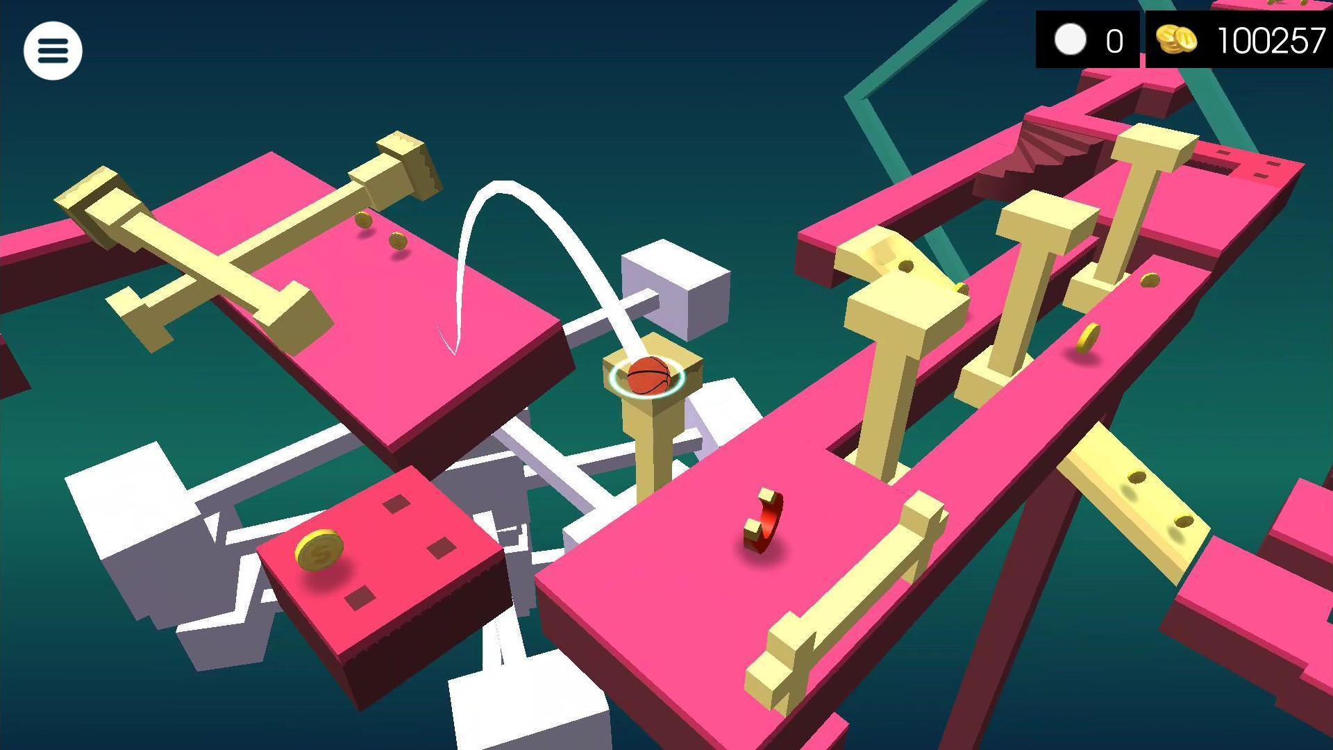 RYWO free 3D roll ball game 1.2.3 Screenshot 1