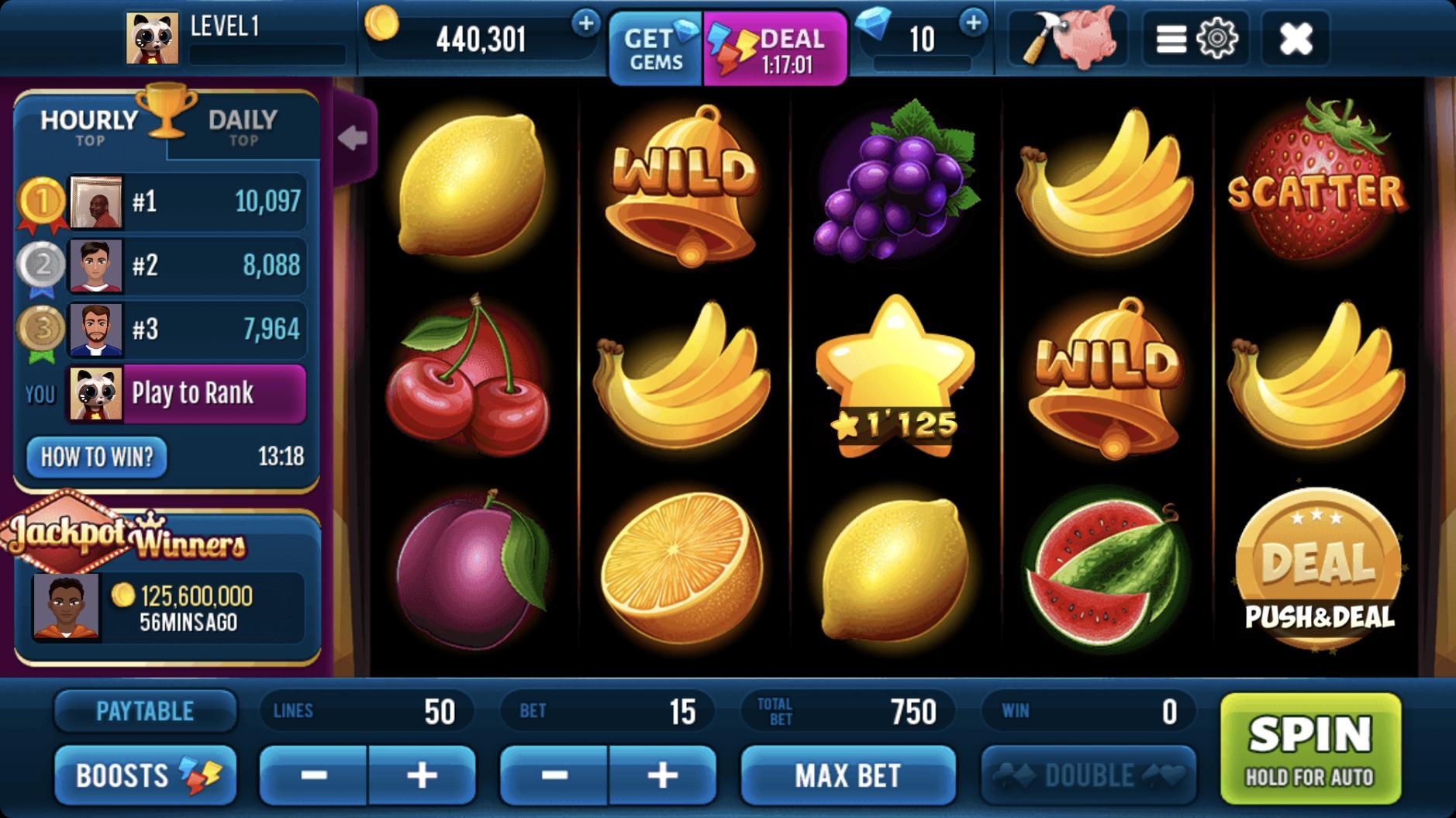 Classic 777 Slot Machine: Free Spins Vegas Casino 2.23.0 Screenshot 1