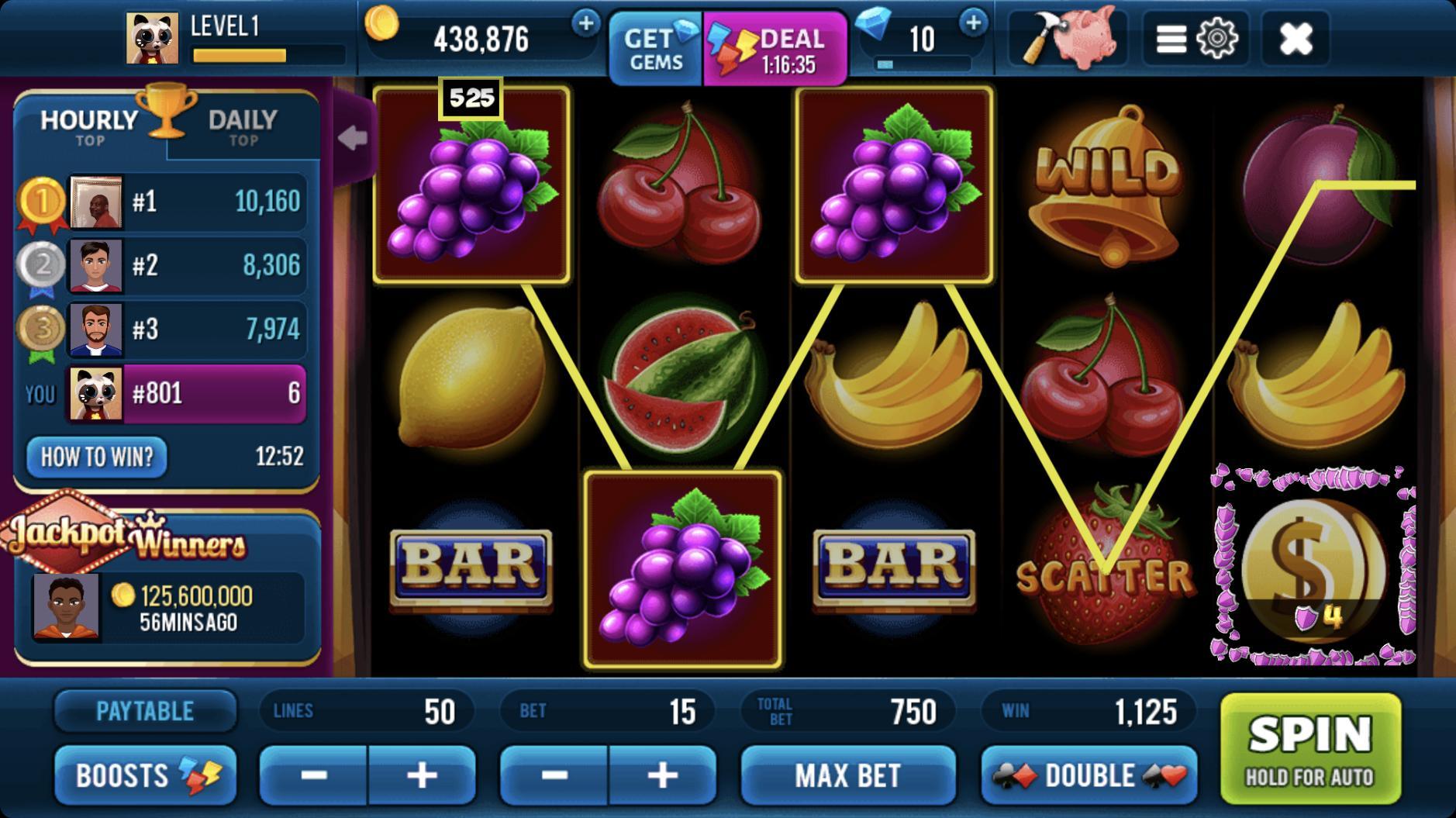 Classic 777 Slot Machine: Free Spins Vegas Casino 2.23.0 Screenshot 15
