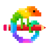 Pixel Art Color by Number app icon