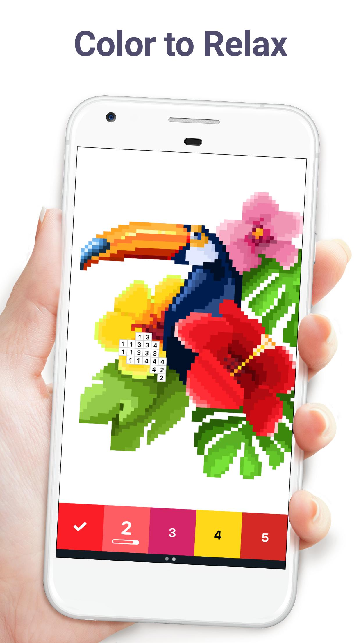 Pixel Art Color by Number 6.6.1 Screenshot 1