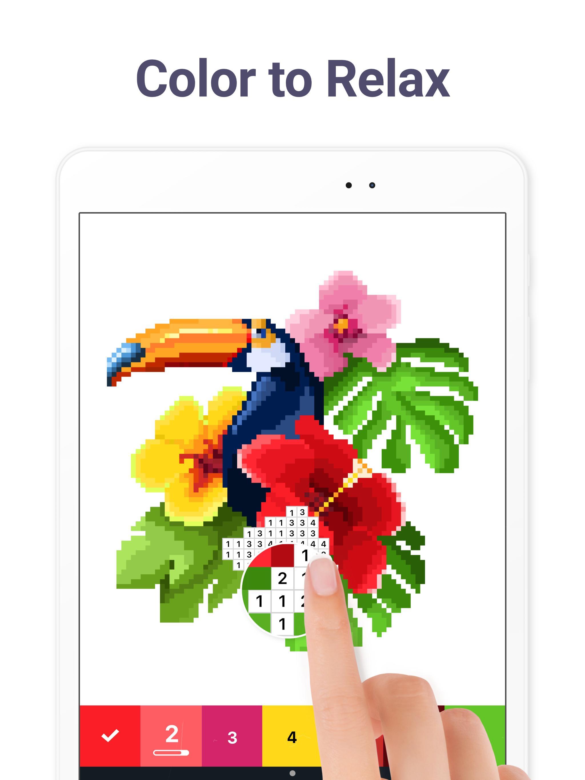 Pixel Art Color by Number 5.1.3 Screenshot 17