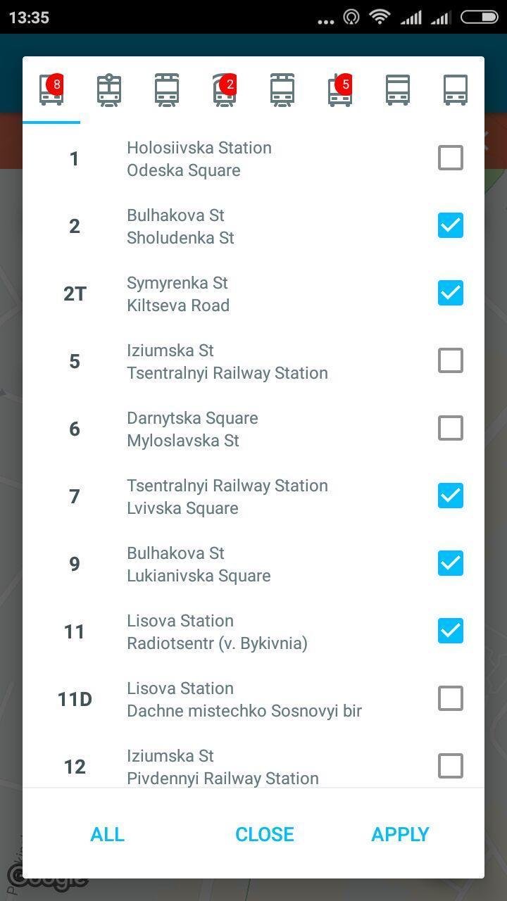 EasyWay public transport 3.4.5 Screenshot 2