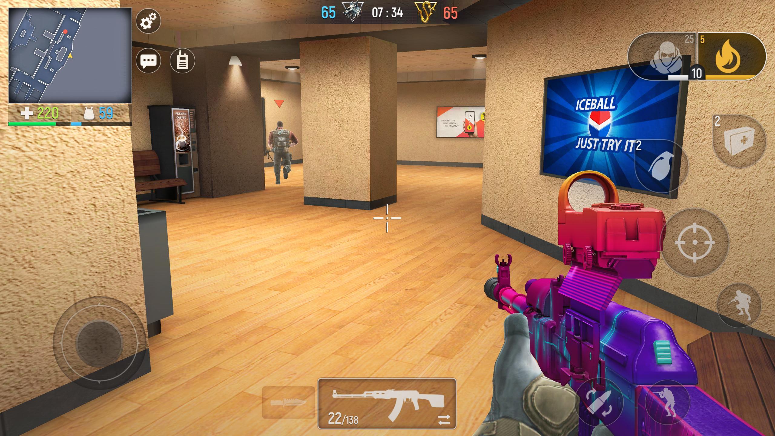 Modern Ops Online FPS (Gun Games Shooter) 5.25 Screenshot 1