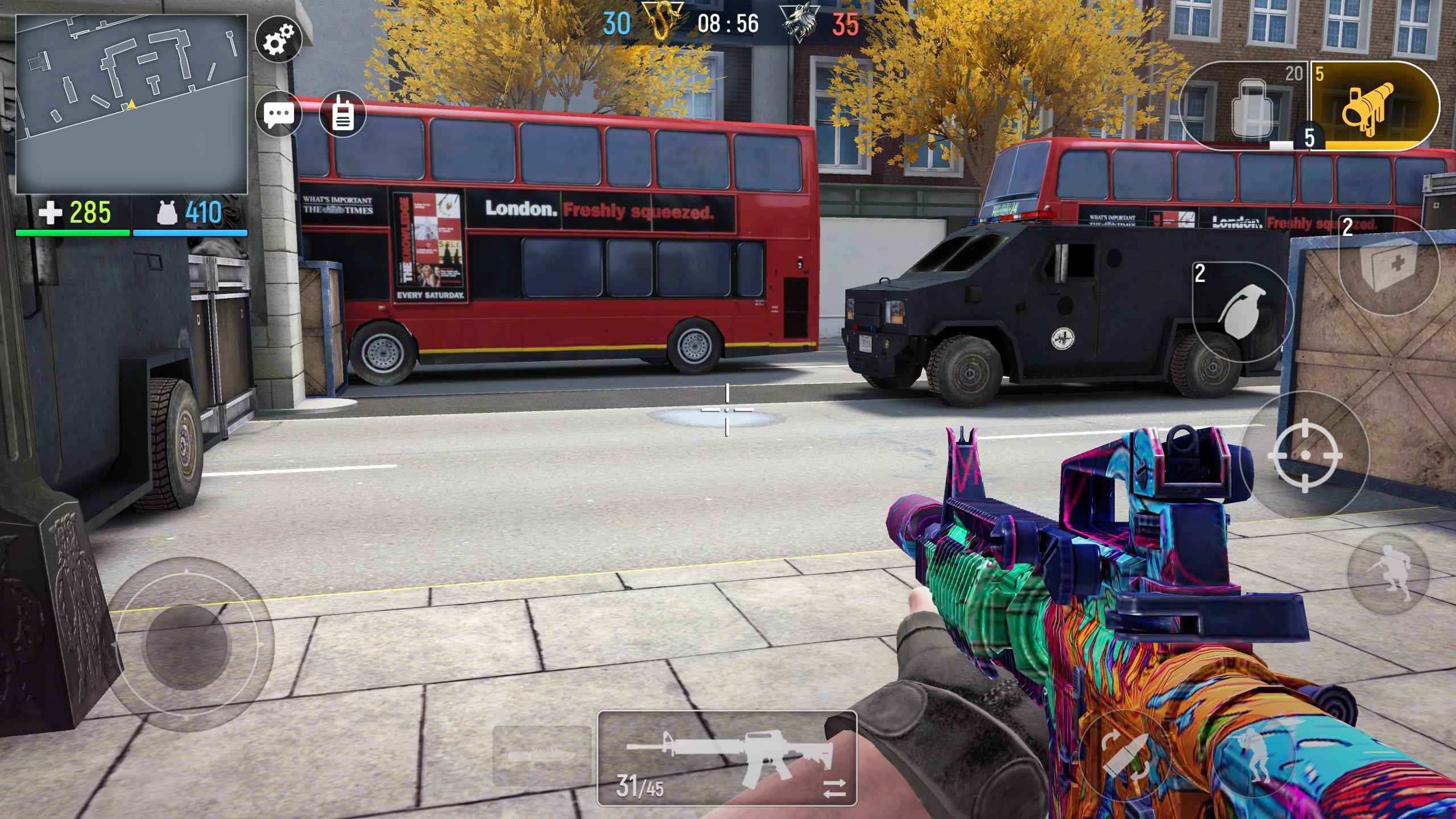 Modern Ops Online FPS (Gun Games Shooter) 5.25 Screenshot 2