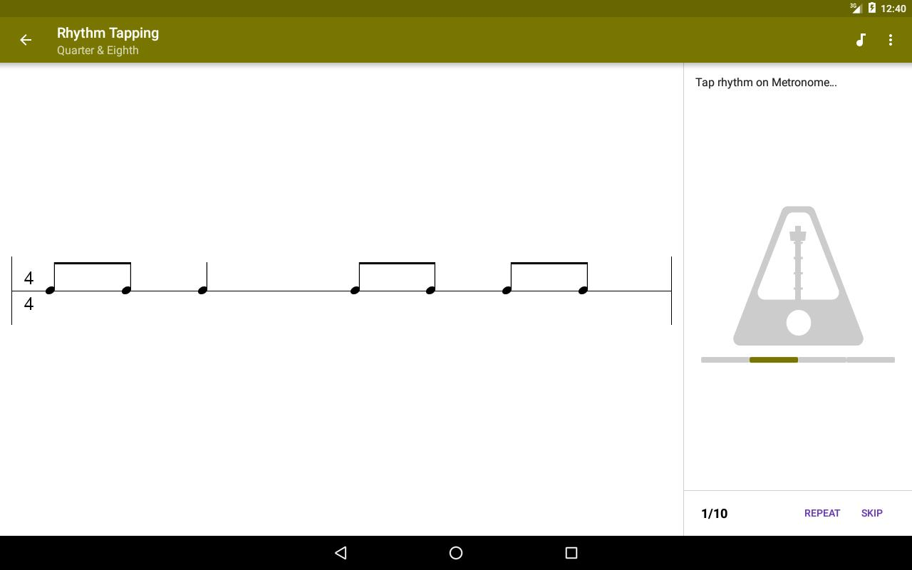 Perfect Ear Music Theory, Ear & Rhythm Training 3.8.66 Screenshot 12
