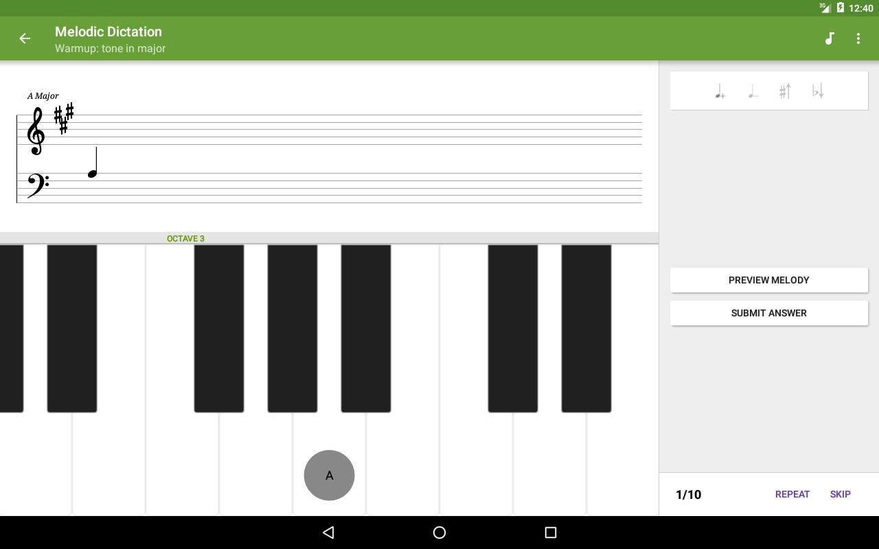 Perfect Ear Music Theory, Ear & Rhythm Training 3.8.66 Screenshot 15