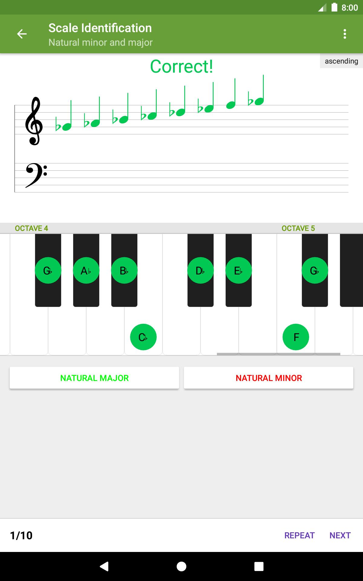 Perfect Ear Music Theory, Ear & Rhythm Training 3.8.66 Screenshot 17