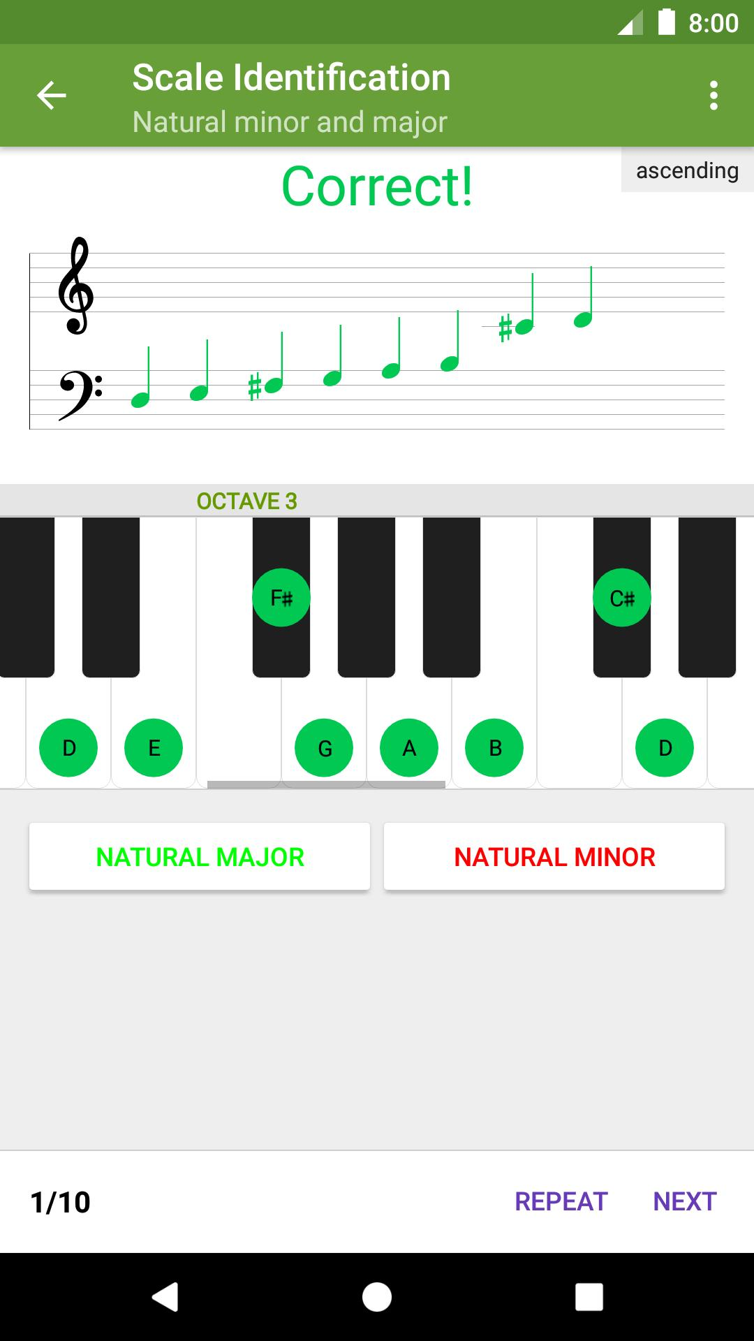 Perfect Ear Music Theory, Ear & Rhythm Training 3.8.66 Screenshot 2