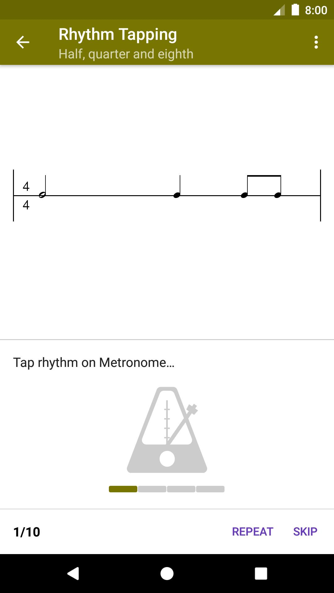 Perfect Ear Music Theory, Ear & Rhythm Training 3.8.66 Screenshot 4