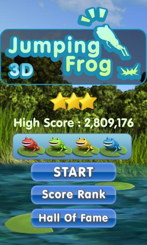 Jumping Frog 3D (Jump advance) 2.2 Screenshot 1
