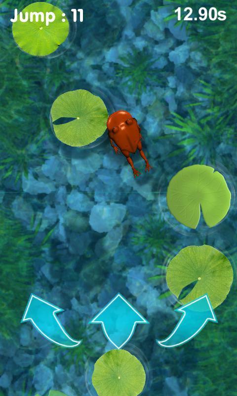 Jumping Frog 3D (Jump advance) 2.2 Screenshot 2