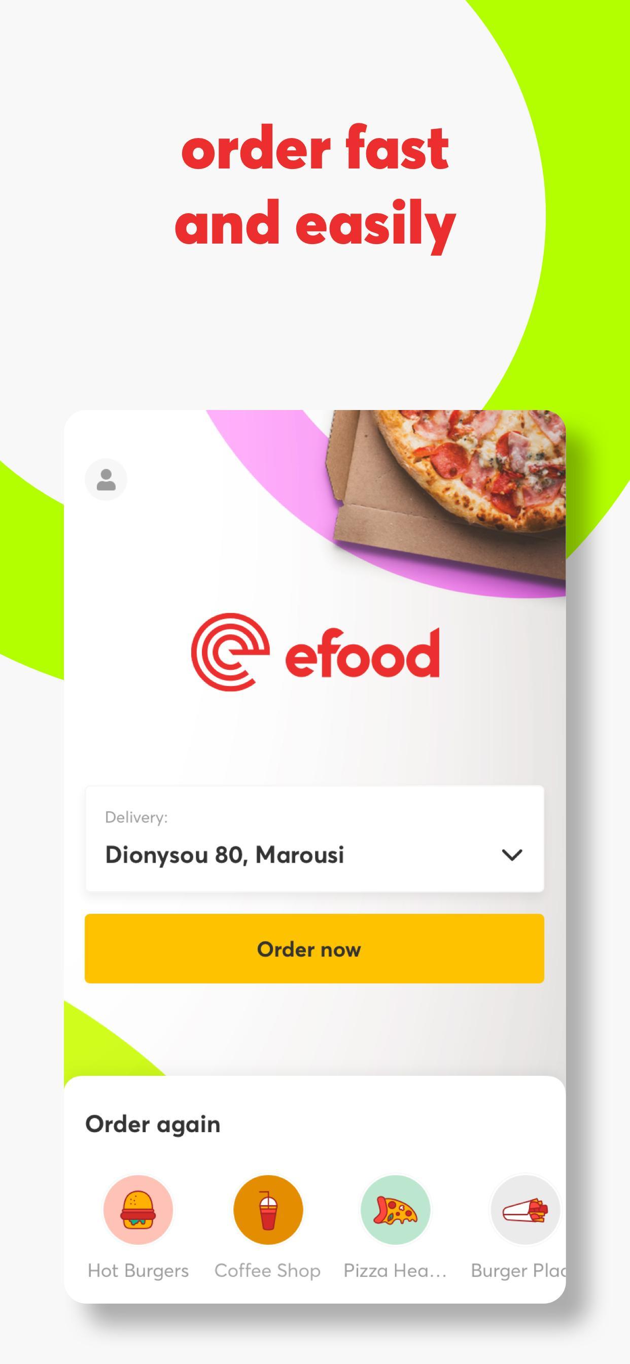 efood delivery 4.6.1 Screenshot 1