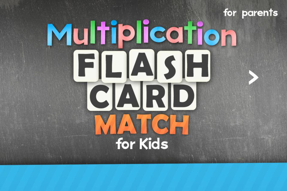 Multiplication Flash Cards Games Fun Math Practice 1.8 Screenshot 1