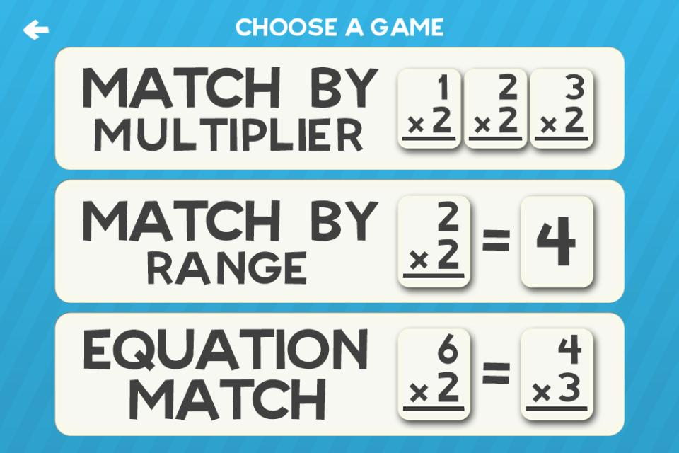 Multiplication Flash Cards Games Fun Math Practice 1.8 Screenshot 3