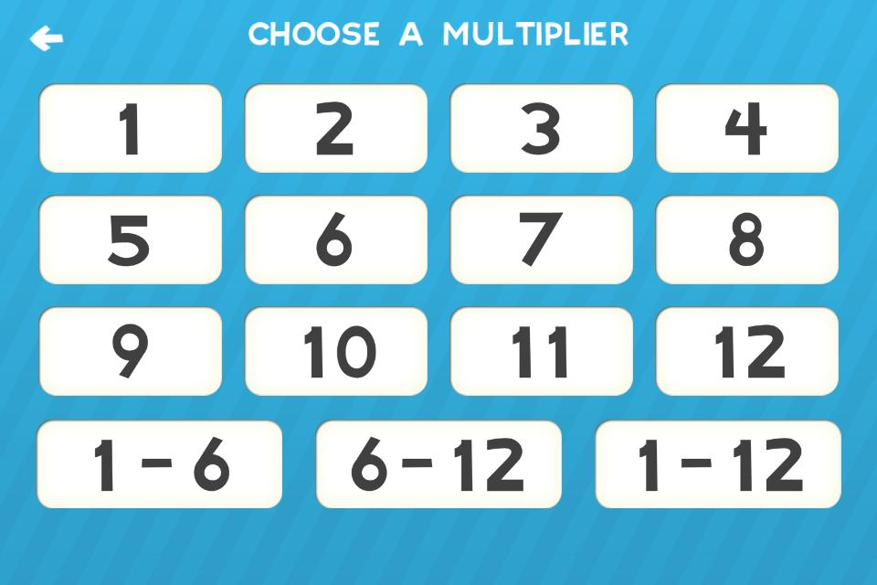 Multiplication Flash Cards Games Fun Math Practice 1.8 Screenshot 5