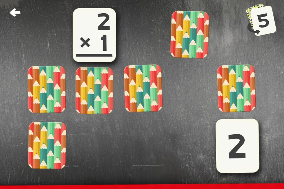 Multiplication Flash Cards Games Fun Math Practice 1.8 Screenshot 8