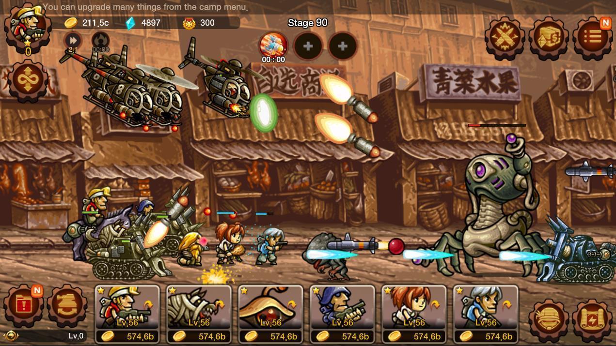 Metal Slug Infinity: Idle Role Playing Game 1.6.8 Screenshot 11
