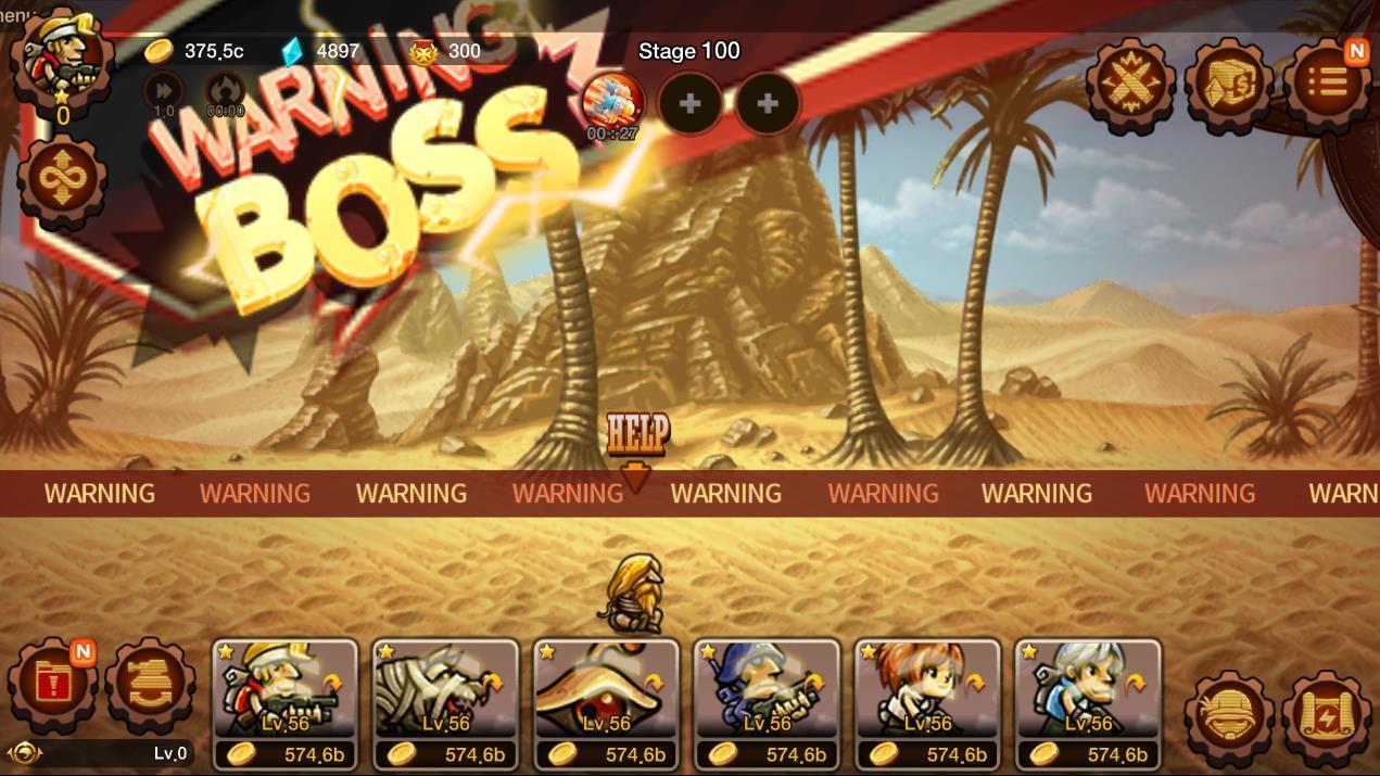 Metal Slug Infinity: Idle Role Playing Game 1.6.8 Screenshot 13