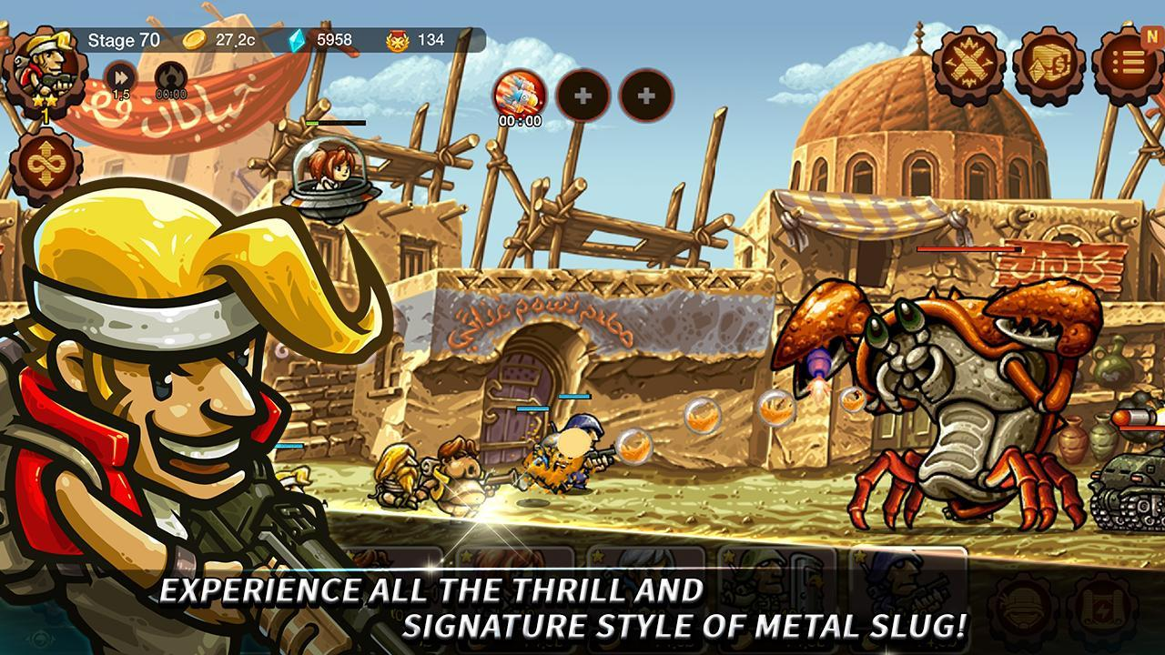 Metal Slug Infinity: Idle Role Playing Game 1.6.8 Screenshot 14