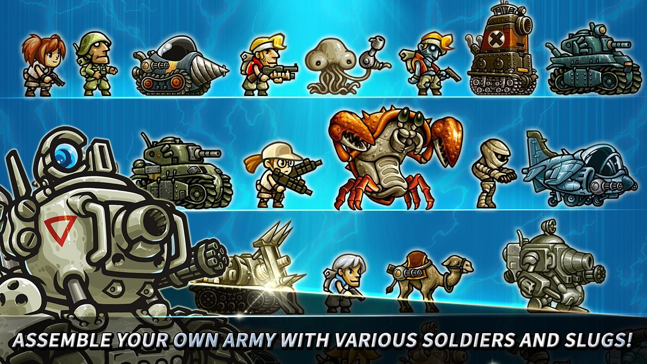 Metal Slug Infinity: Idle Role Playing Game 1.6.8 Screenshot 15