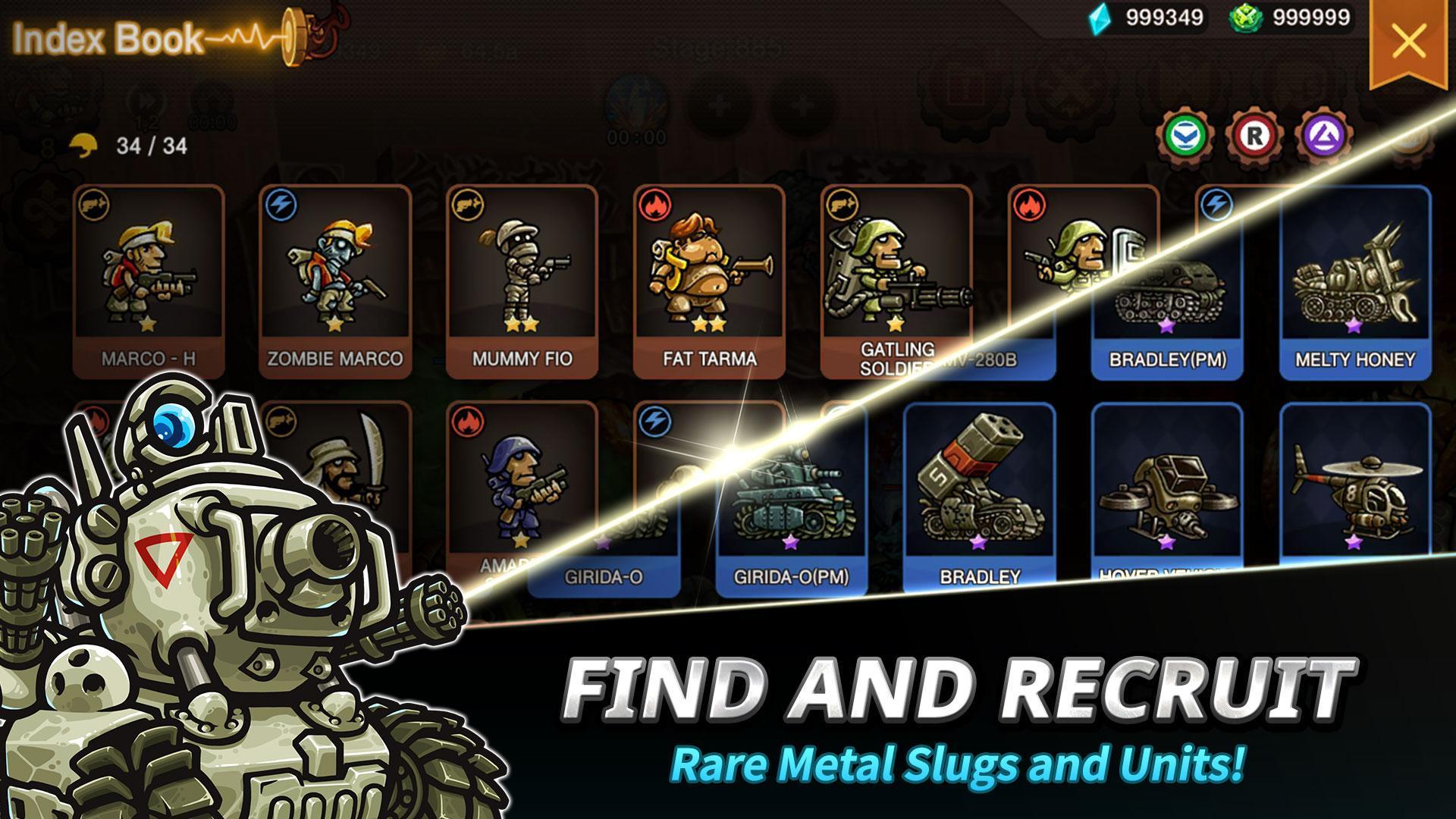 Metal Slug Infinity: Idle Role Playing Game 1.6.8 Screenshot 3