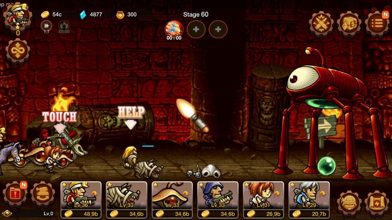 Metal Slug Infinity: Idle Role Playing Game 1.6.8 Screenshot 5