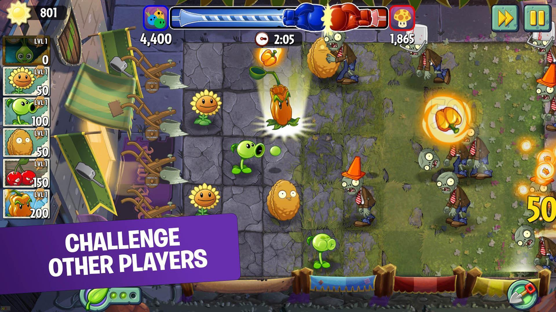 Plants vs. Zombies™ 2 Free 8.2.2 Screenshot 3