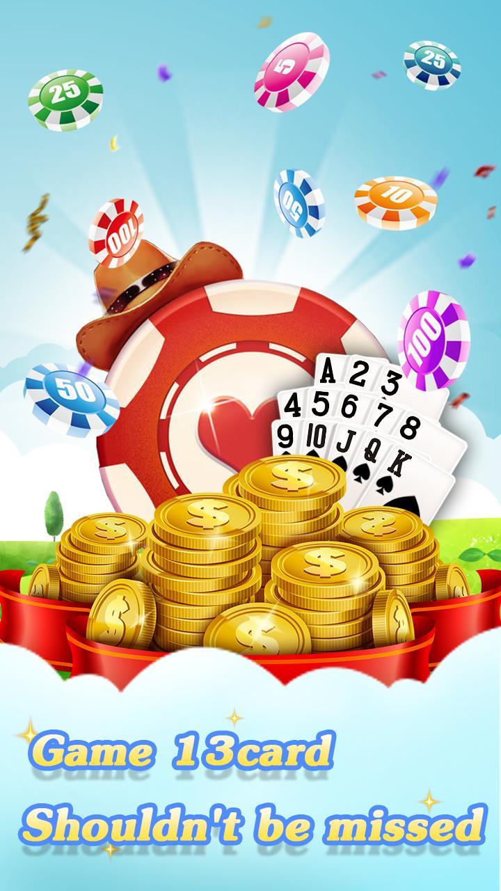 Chinese poker - Pusoy, Capsa susun, Free 13 poker 1.0.0.23 Screenshot 4