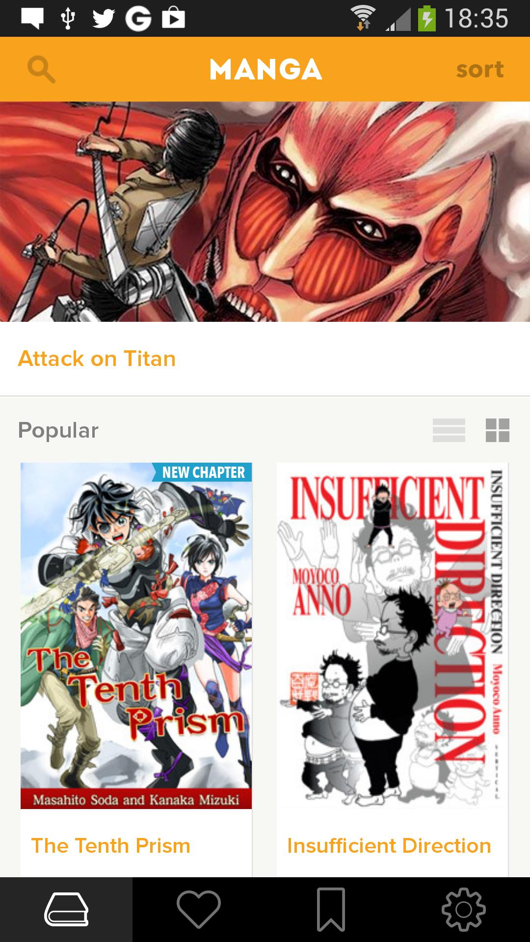 Crunchyroll Manga 4.1.1 Screenshot 1