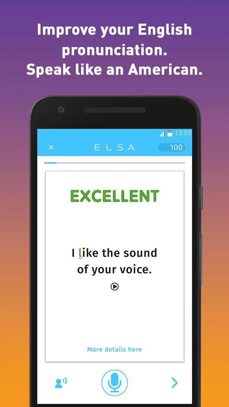 ELSA Speak: English Accent Coach 5.4.5 Screenshot 1