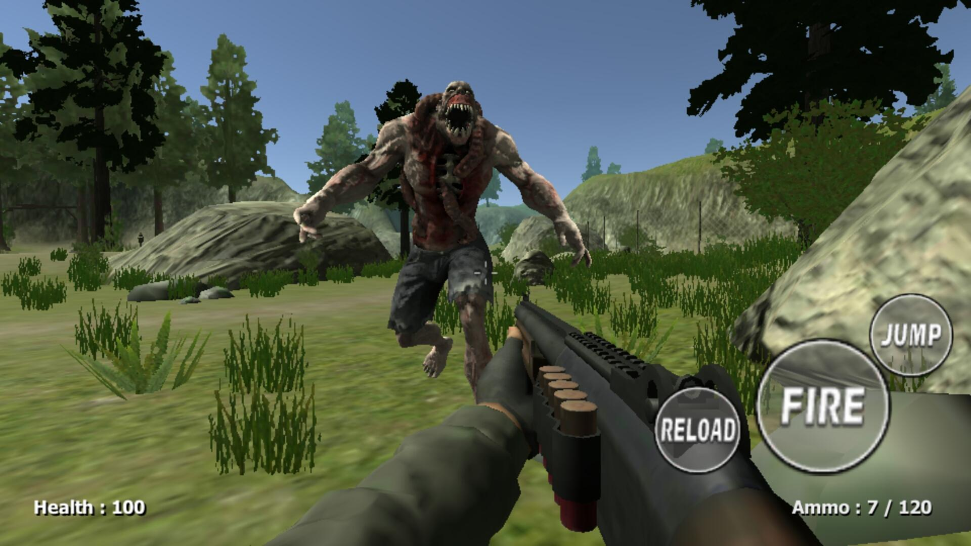 Zombie Evil Kill 2 Dead Horror FPS 4.3 Screenshot 2