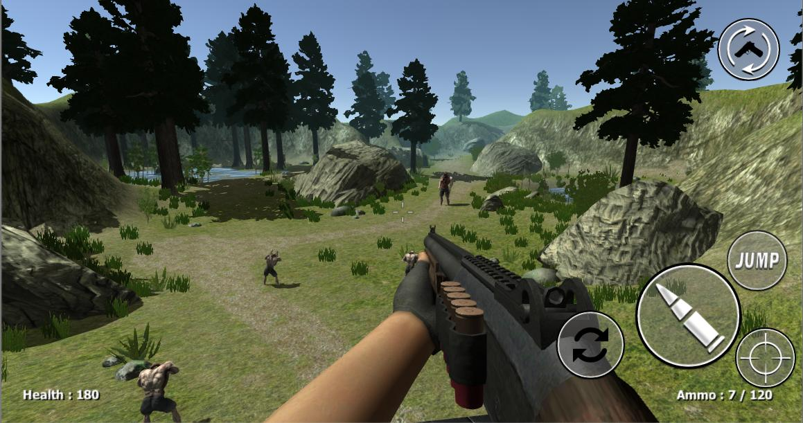 Zombie Evil Kill 2 Dead Horror FPS 4.3 Screenshot 6